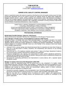 Quality Assurance Sle Resume by Pharma Quality Resume Sales Quality