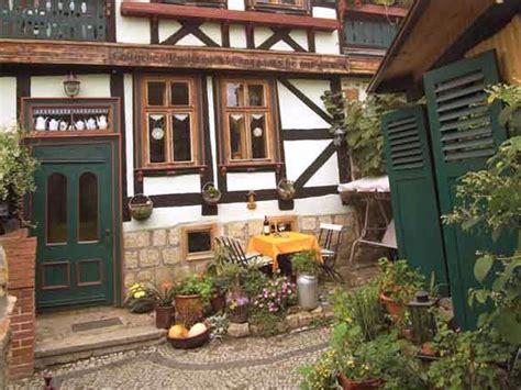 garten quedlinburg ferienwohnung im fachwerkhaus nord harz familie christa