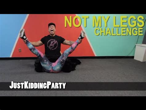 not my legs challenge viyoutube