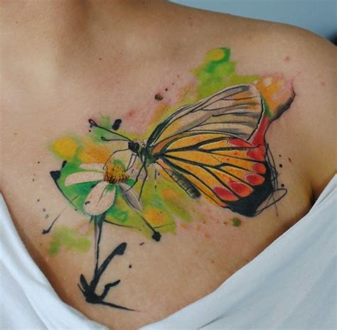 1001 designs de tatouage papillon pharamineux