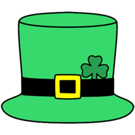 leprechaun hat template st s day themes