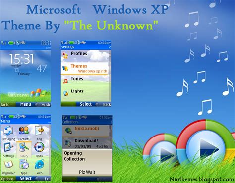nokia c3 themes windows xp nokia mobile themes the windows xp theme for nokia s40 v5