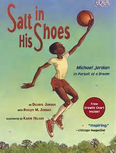 michael jordan the biography book salt in his shoes book by deloris jordan roslyn m