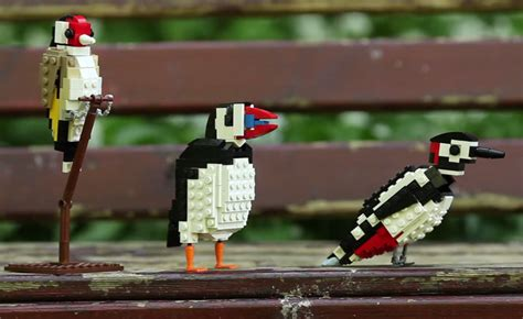 lego birds  tom poulsom twistedsifter
