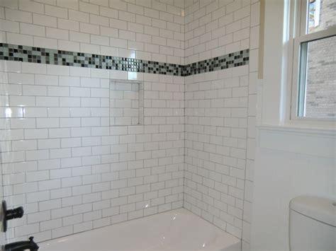 Bathroom Shower Stall Tile Designs Bathroom Inspiring Bathroom Design Using White Bathtub And
