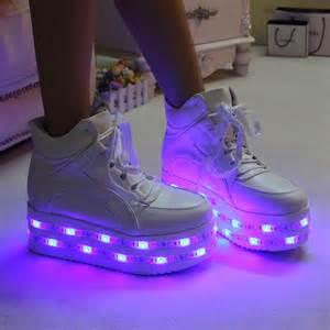 sale fashion kawaii colorful led light up platform