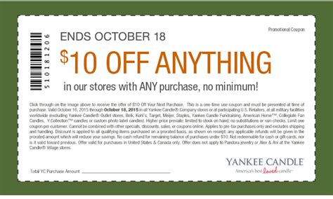yankee candle printable coupons canada yankee candle coupons printable 2016 2017 2018 best