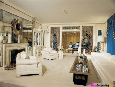 celebrity interior homes celebrity homes elvis presley s graceland