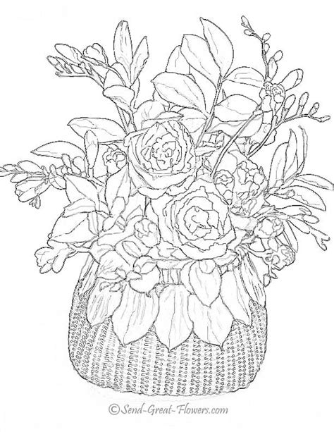 free printable coloring pages for adults advanced flowers advanced flower coloring pages flower coloring page