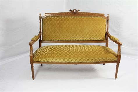sale settees louis xvi style settee for sale at 1stdibs