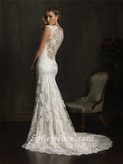 lace sheer wedding gowns dramatic mermaid cap sleeve v neck lace wedding dress with