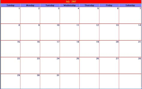 printable calendar days 30 day calendar template new calendar template site