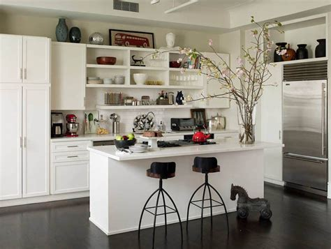 Open Kitchen Cabinet Ideas Open Kitchen Shelves Inspiration