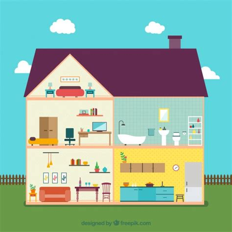 house interior vector house interior vector free download