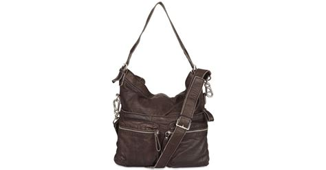 Liebeskind Pavia Silky Satchel Leather Tas liebeskind soft leather shoulder bag in brown lyst