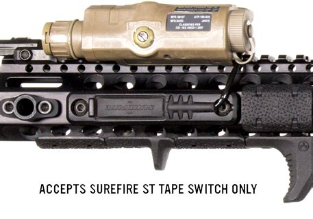 magpul m lok tape switch mounting plate surefire st