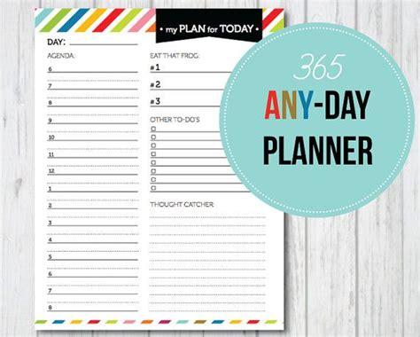 printable day planner sanjonmotel cute cute cute 365 any day planner pdf printable