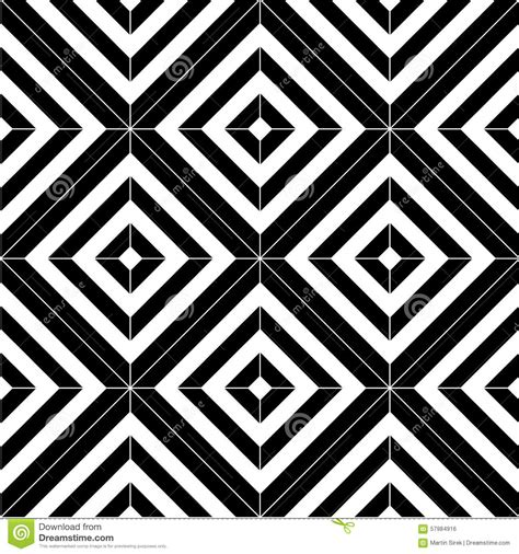 pattern tiles black and white black and white seamless pattern tiles stock vector