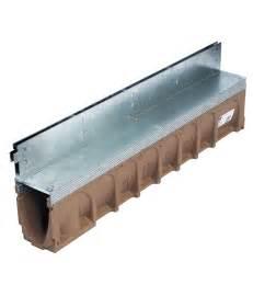 caniveaux 224 fente aco linedrain le drainage invisible