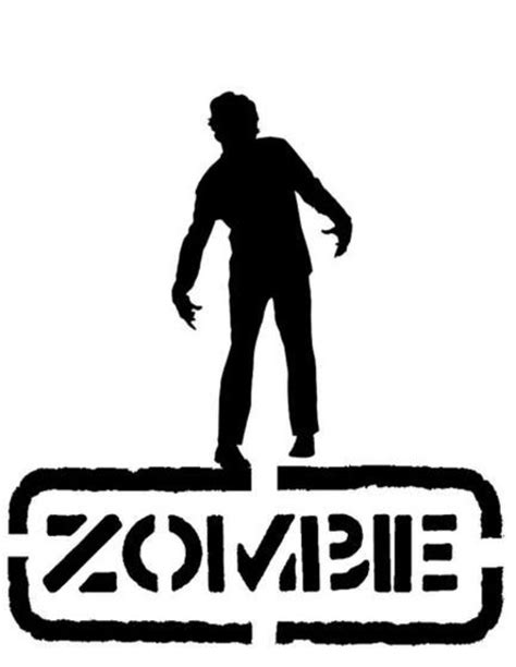 printable zombie stencils 17 best images about zombie on pinterest tattoo images