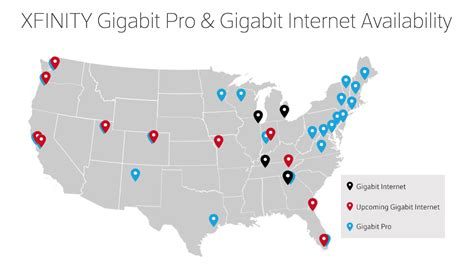 comcast to offer gigabit internet service over docsis modem comcast s gigabit cable will be in 15 cities by early 2017