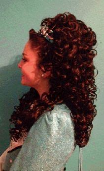 irish curly hair 1000 images about irish dance hair wigs and headbands on