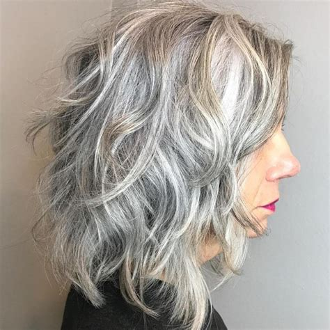 grey shaghaiecut 60 best hairstyles and haircuts for women over 60 to suit