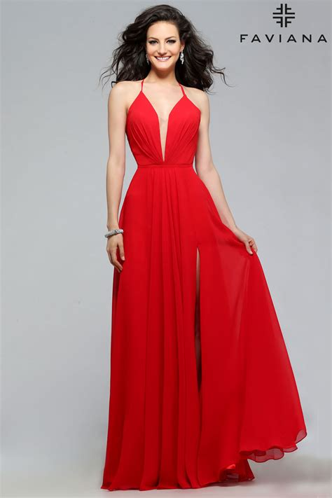 faviana  prom dress prom gown