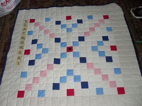 Scrabble Quilt by Scrabble Quilt Pittenger
