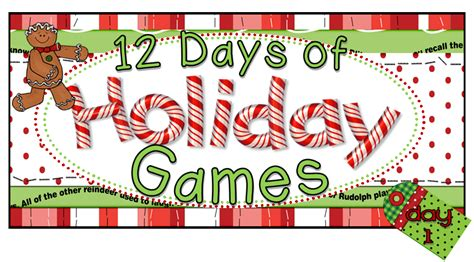christmas games for the classroom 12 classroom freebies