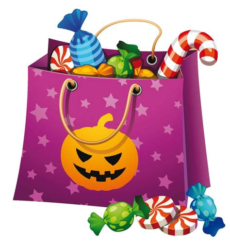 Trick Or Treat Bags Halloween Candy Clip Art Cliparts Co I Could Make A Cookie Out Of This Pinterest