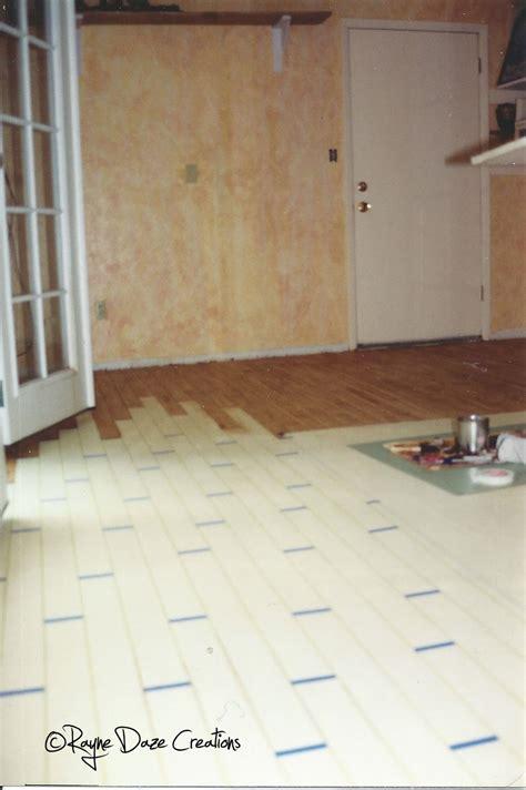 faux paint concrete floor daze creations faux wood painted concrete floor