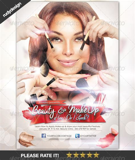 Home Design Game Ideas by Beauty Make Up Cosmetic Flyer Design Graphicriver