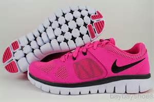 Nike Flexrun 2014 Bekas Authentic 100 nike flex 2014 run gs pink black white running free womens us youth sizes ebay