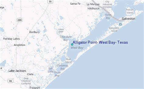 alligators in texas map alligator point west bay texas tide station location guide