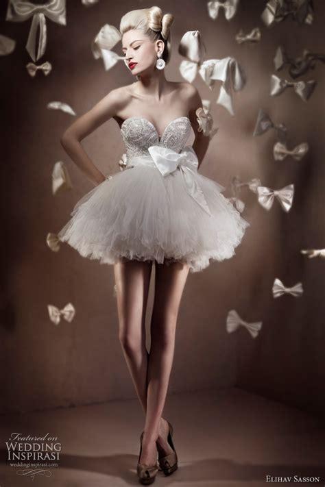 Tutu Style Wedding Dresses by Elihav Sasson 2011 Bridal Collection Wedding Inspirasi