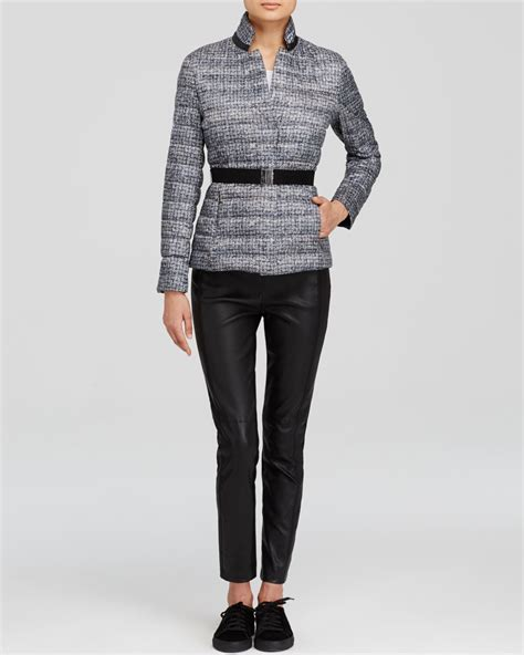Max Mara Weekend Quilted Jacket by Weekend By Maxmara Jacket Tibet Quilted In Gray Lyst