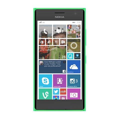 nokia lumia 735 front microsoft lumia 735 smart phone a00021643 appliances