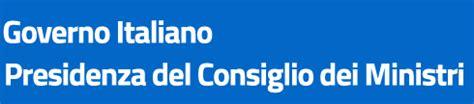 pec presidenza consiglio dei ministri informazioni su palazzochigi it governo italiano home page
