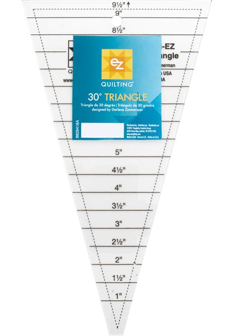 quilting rulers templates ez quilting template 30 triangle