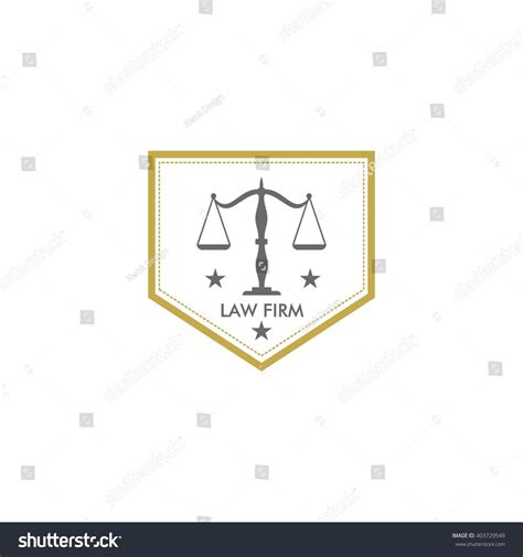 law firm logo template stock vector 403729549 shutterstock