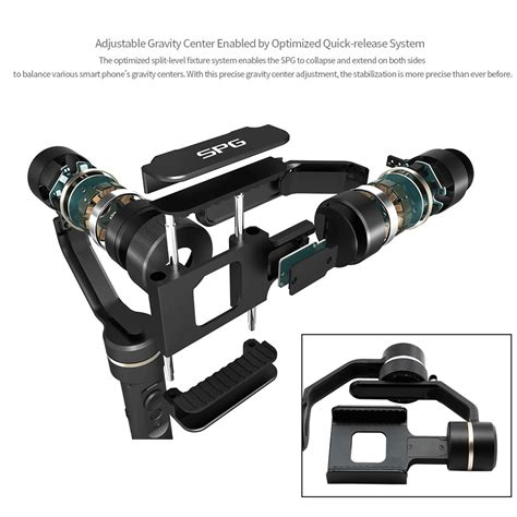 Item Feiyu Spg Handled Stabilizer For Smartphones Actioncam feiyu spg 3 axis handheld stabilizer gimbal for gopro smartphone ebay