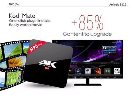 Custom Kodi Android Tv Box T95k Pro S912 2gb 16gb Std manufacturer custom logo android 6 0 h96 pro kodi 4k amlogic tv box buy amlogic