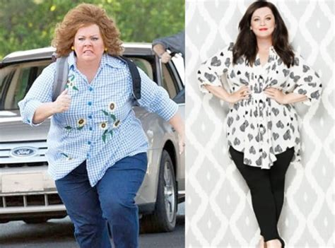 melissa mccarthy wows after 50 pound weight loss on low heidi klum s bikini diet and workout tips flaunts butt