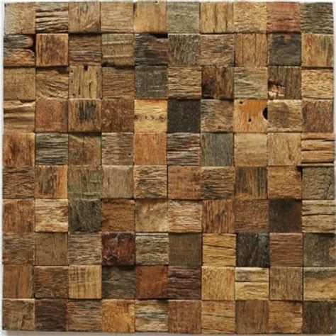 rustic kitchen backsplash tile natural wood mosaic tile rustic wood wall tiles nwmt002