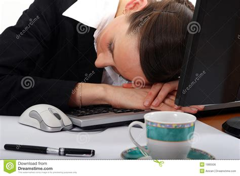 sleeping on desk royalty free stock image image 1985506