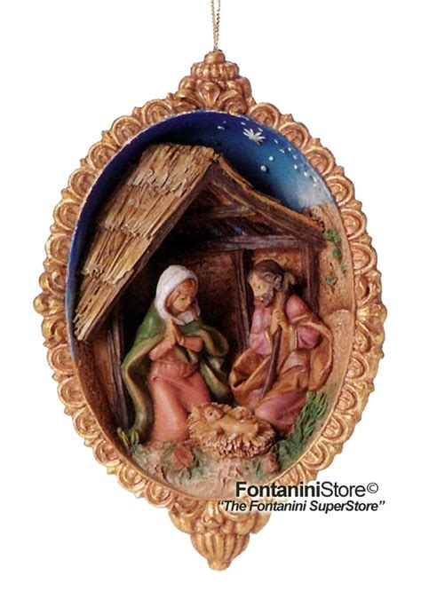 fontanini resin open ornament from http www