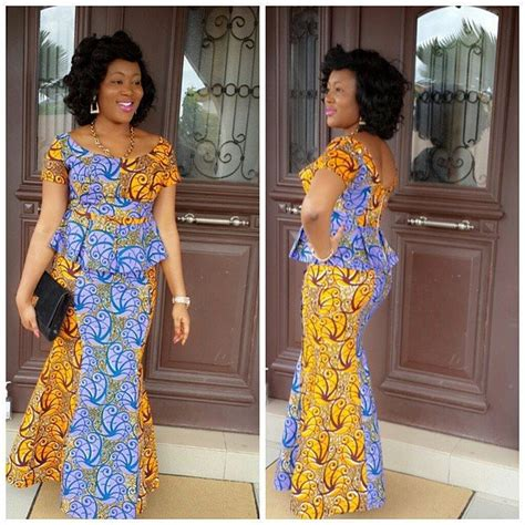 latest niger styles 9 amazing nigerian traditional skirt and blouse styles