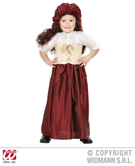 Yura Dress Original By Emmaqueen childrens peasant fancy dress costume