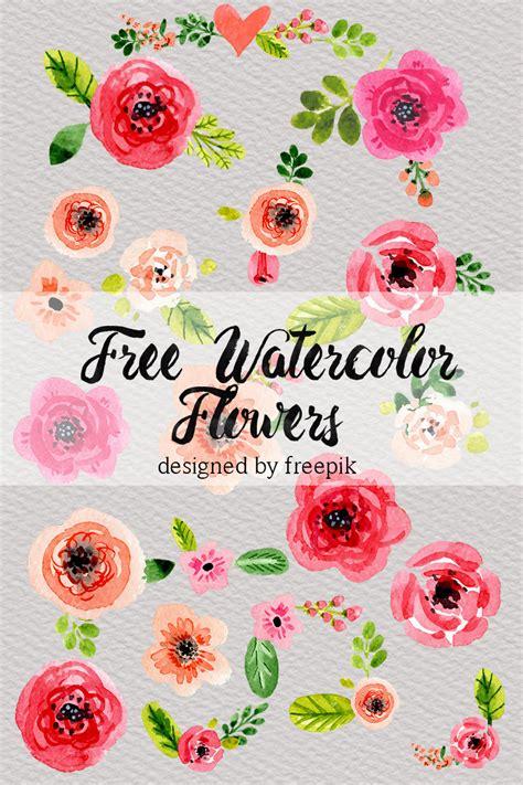 free printable watercolour flowers dlolleys help free watercolor flowers